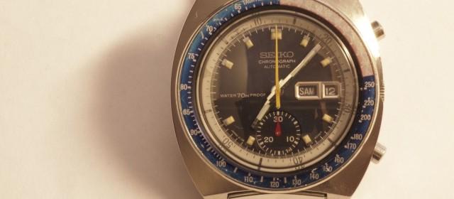 Seiko Chronograph Pepsi – Cal. 6139A