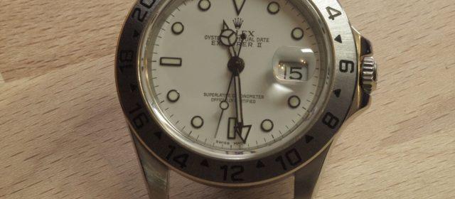 Rolex Explorer II – Cal. 3185