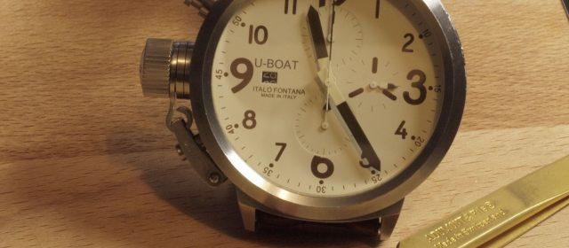 U-Boat – Vetro Zaffiro – ETA 7750