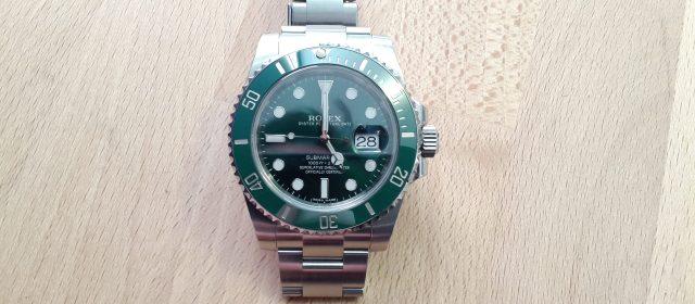 "Rolex Submariner ""Hulk"" – Cal. 3135"